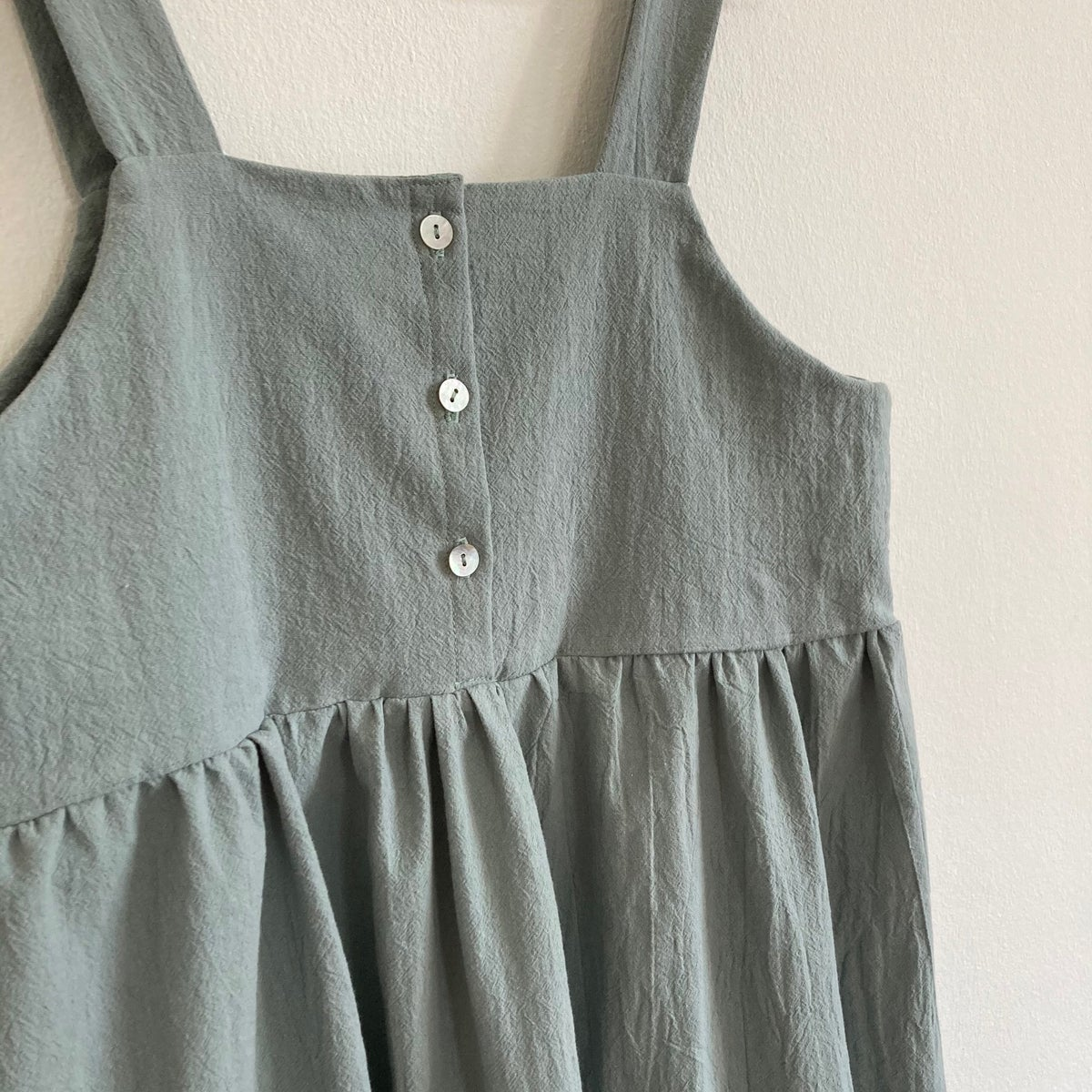 Mira Dress-old green