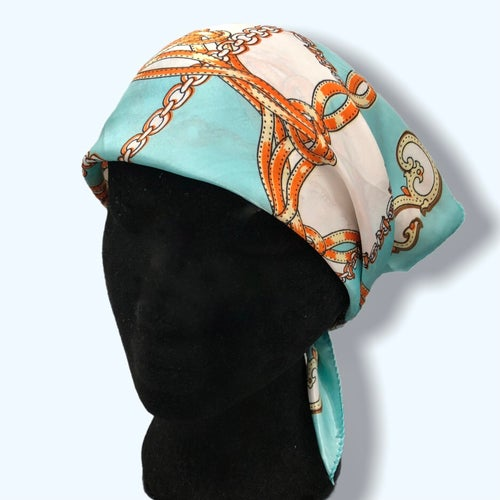 Image of Mint Chain Headscarf