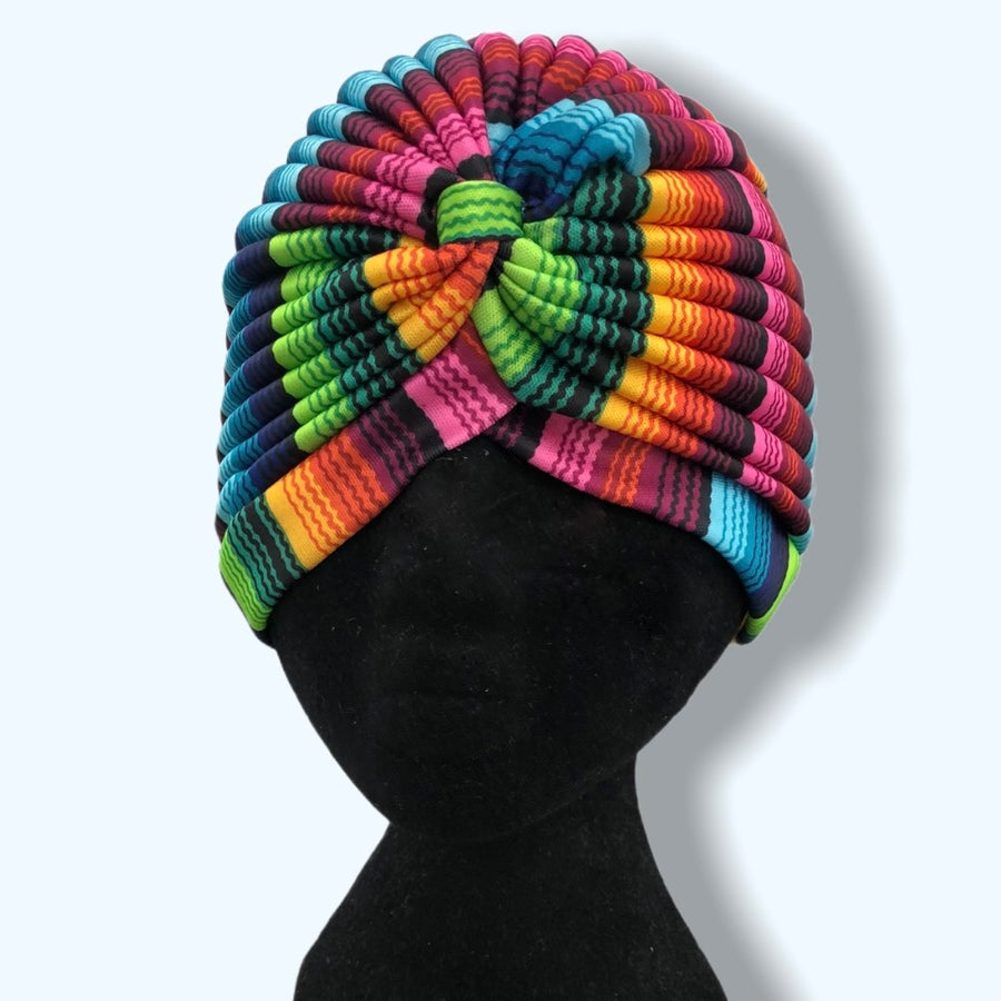 Image of Rainbow Turban