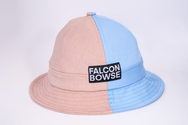 Image of Blue and pink bucket
