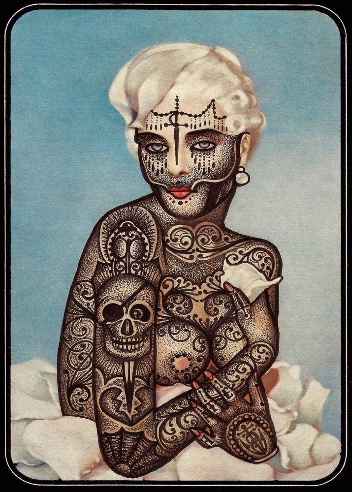 Image of The Hostess -artist proofs-
