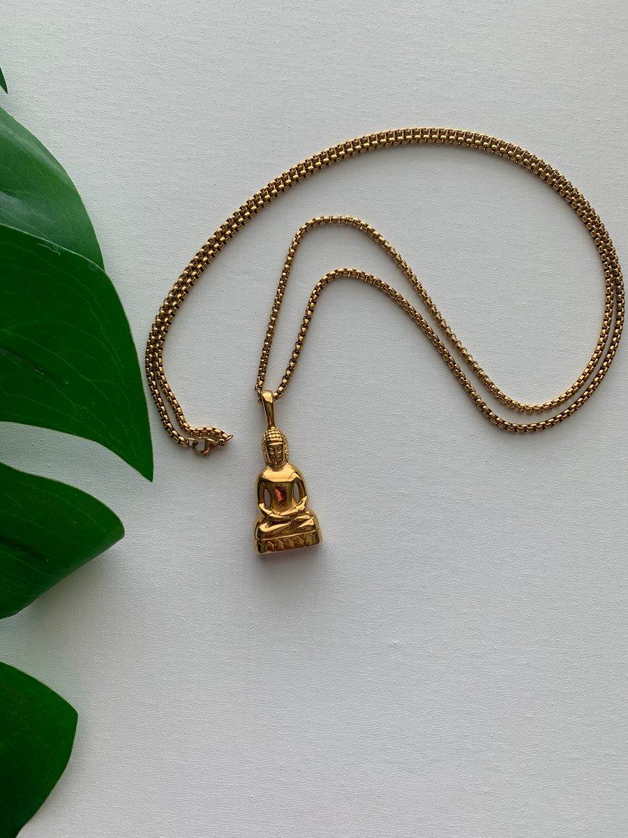 Image of HARTHA • Buddha Necklace