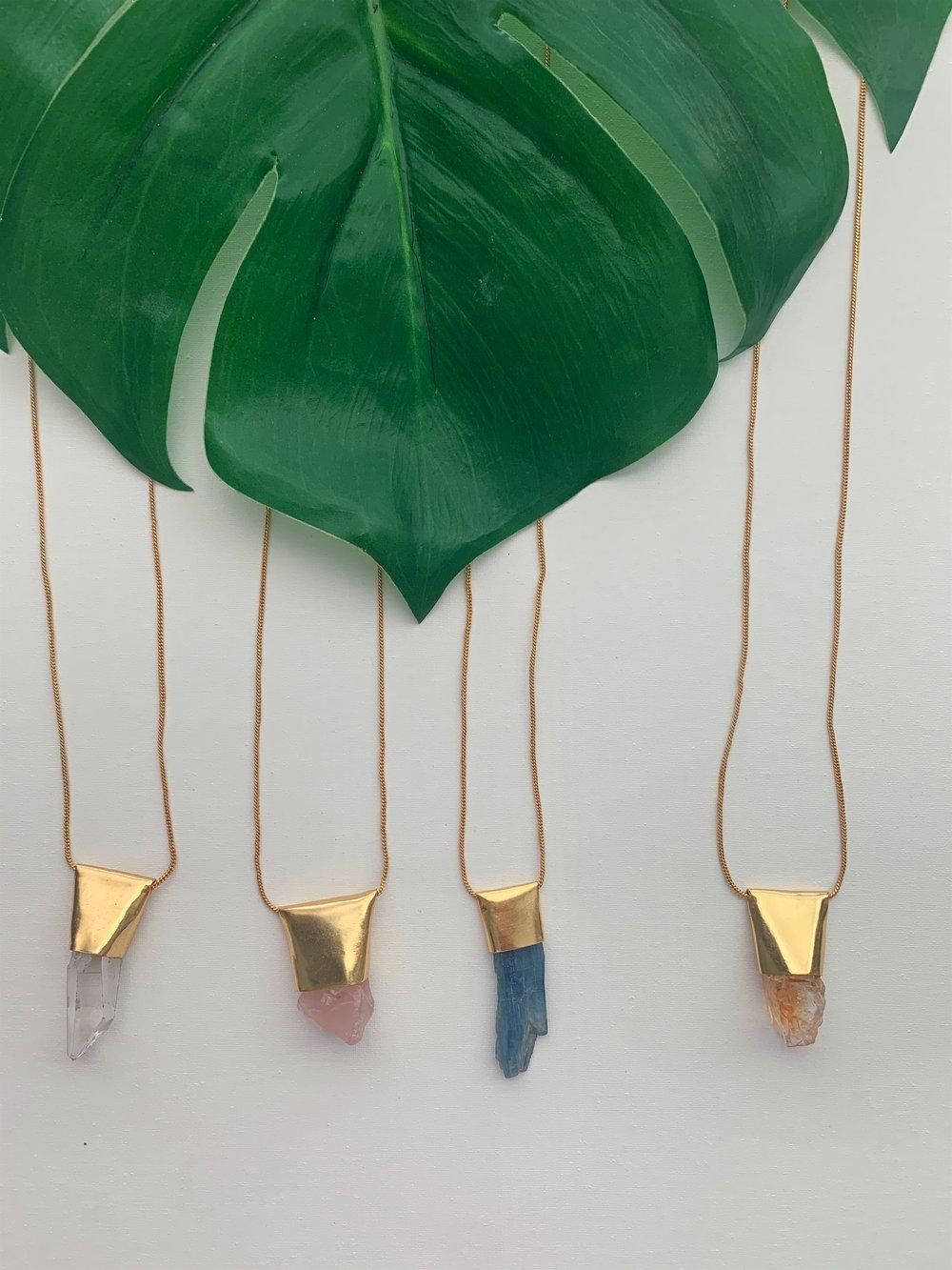 Image of TUKK • Crystal Necklace