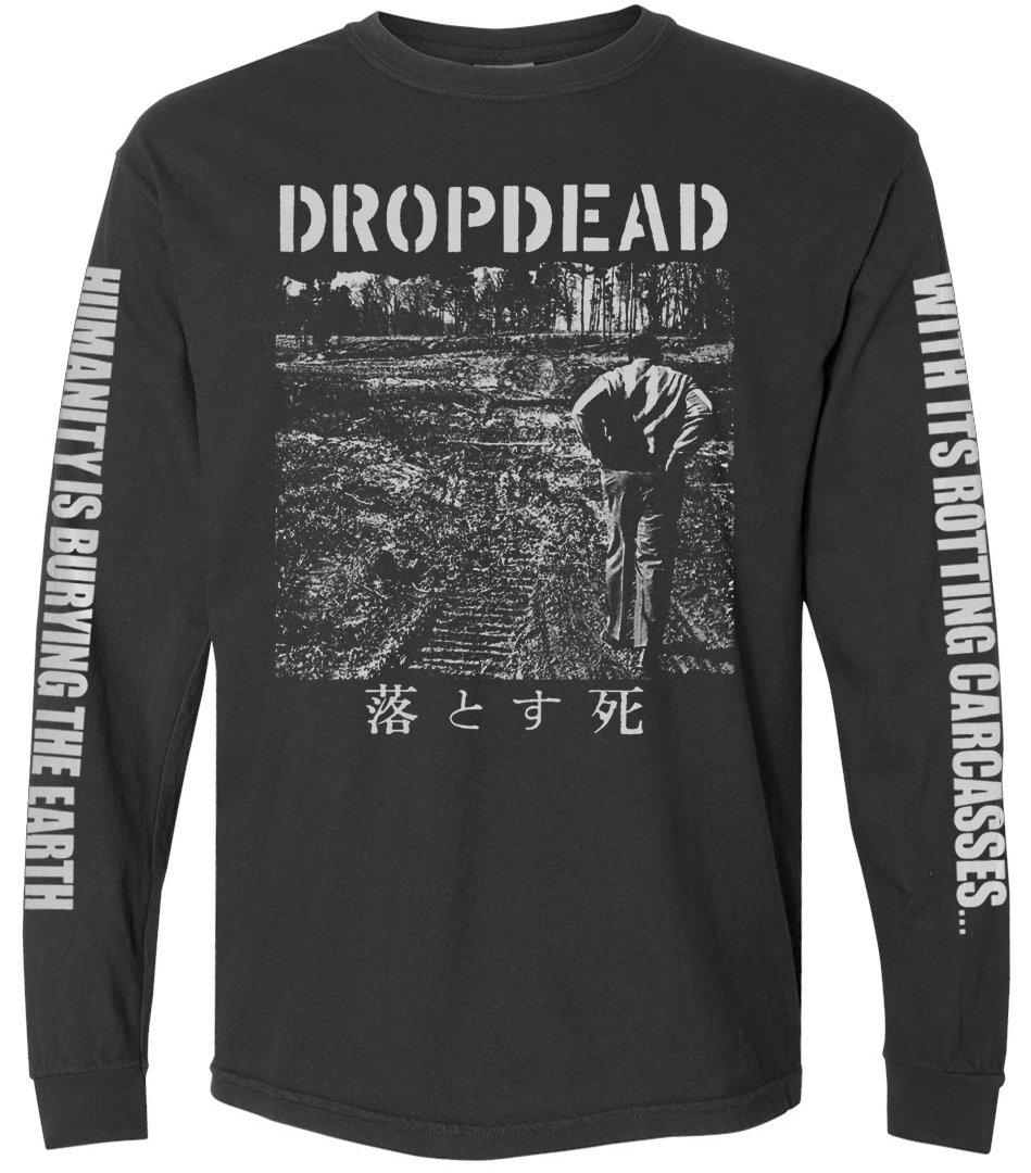 "DROPDEAD '1st LP Cover"" Longsleeve"