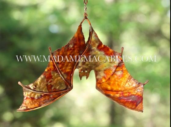 Image of Copper Bat - Wind Spinner