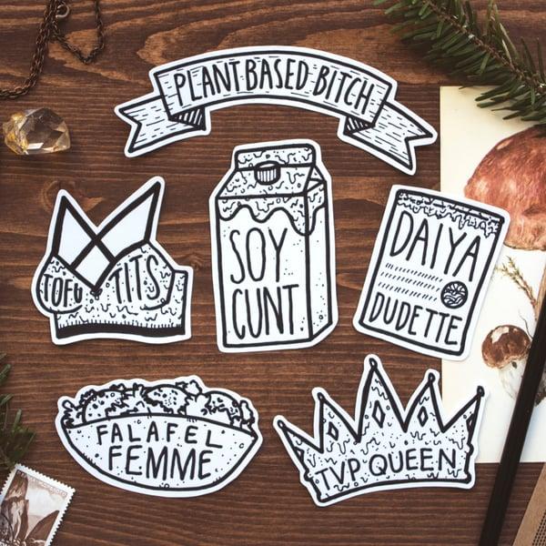 Image of Vegan Sticker Pack