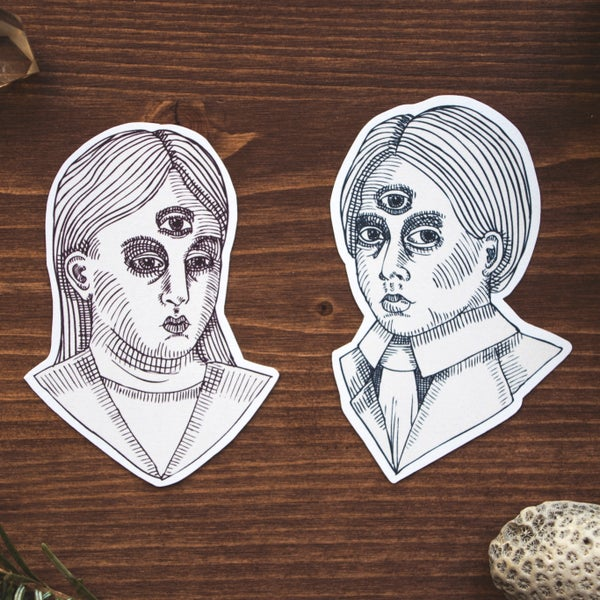 Image of Twins Sticker Pack
