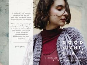 Image of  Good Night, Day Minimalist Knitting Patterns Book + Ebook