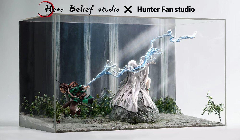 Image of [Early-Bird][Pre-Order]Demon Slayer Hero Belief & Hunter Fan Studio Tanjiro Resin Statue