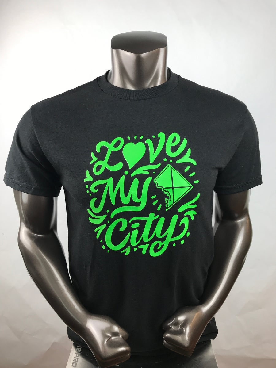 Image of Love My City Promotional T-shirt (12E1)