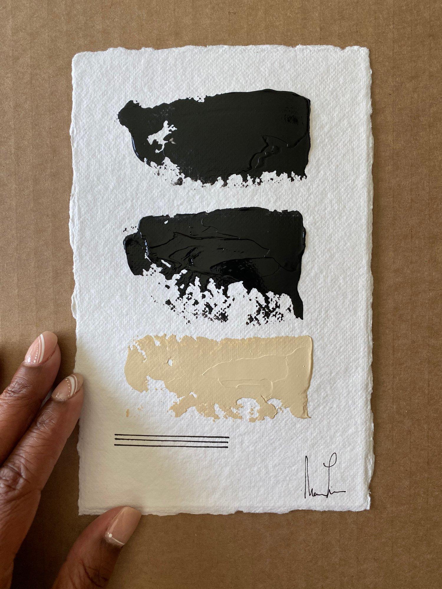 Image of Black Tie Cotton Rag (43)