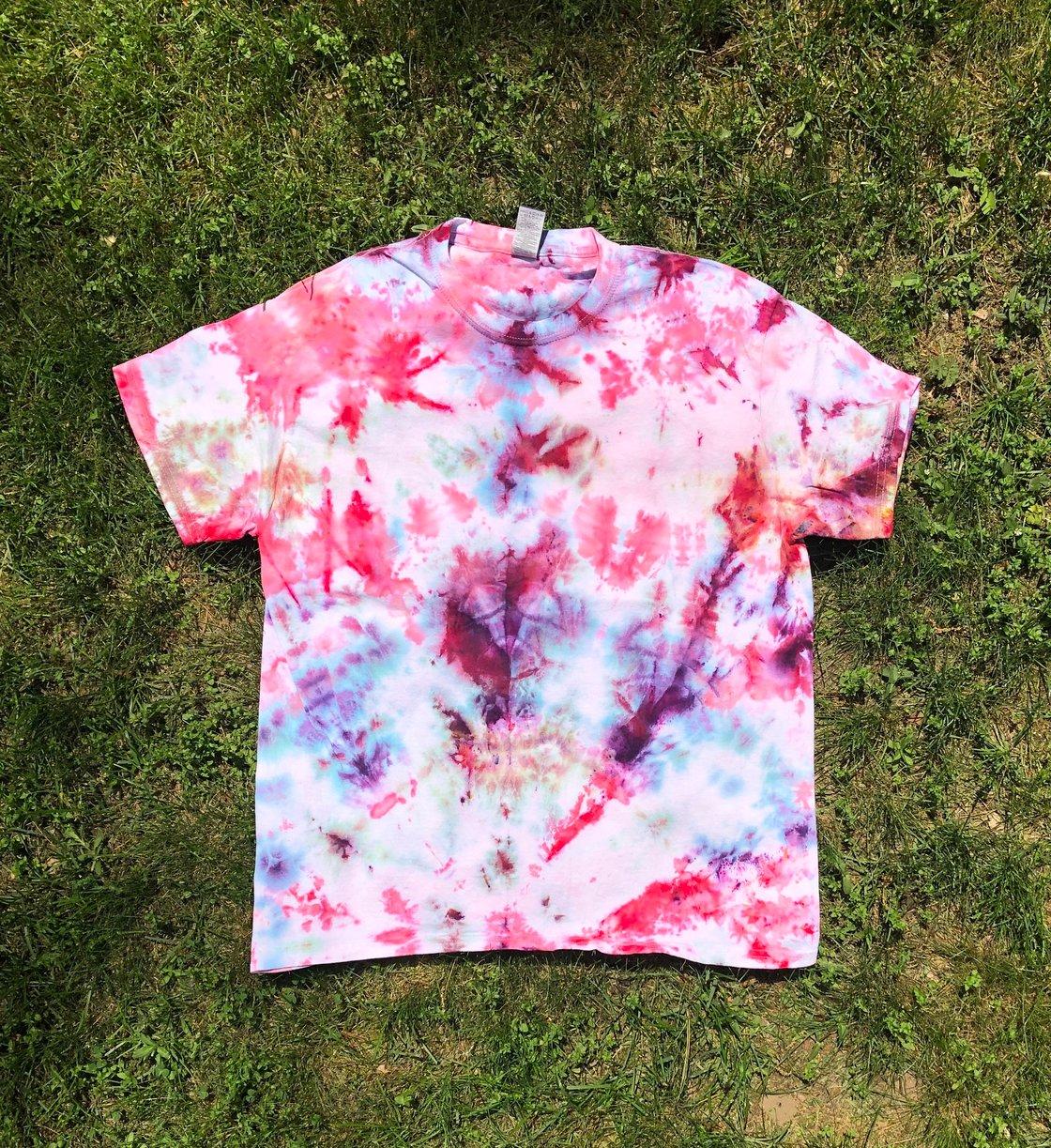 Image of Unprinted Tie-Dye Shirts