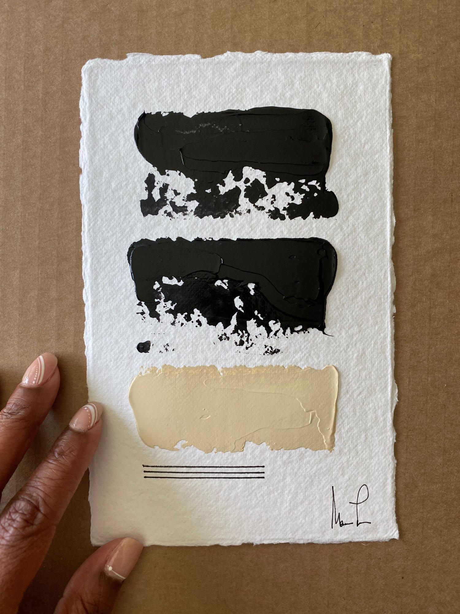 Image of Black Tie Cotton Rag (44)