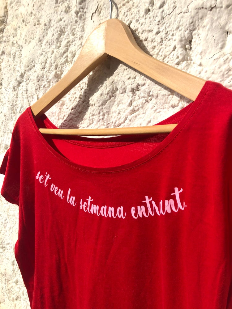 Image of Samarreta SETMANA ENTRANT vermella