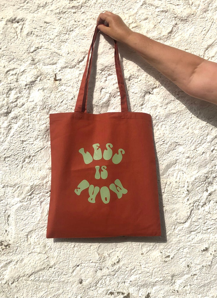 Image of Totebag LESS IS MORE