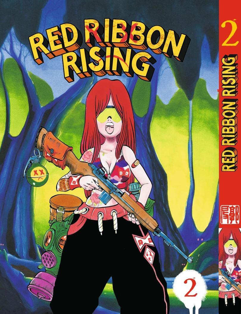 Image of RED RIBBON RISING 02