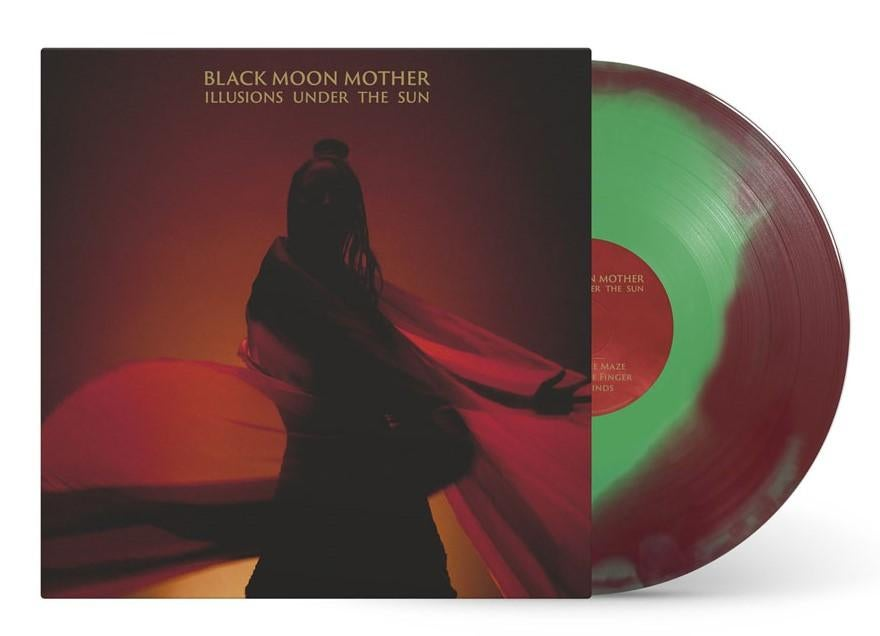 BLACK MOON MOTHER - ILLUSIONS UNDER THE SUN LP (TRANSPARENT RED/ DOUBLE MINT GREEN MERGE VINYL)