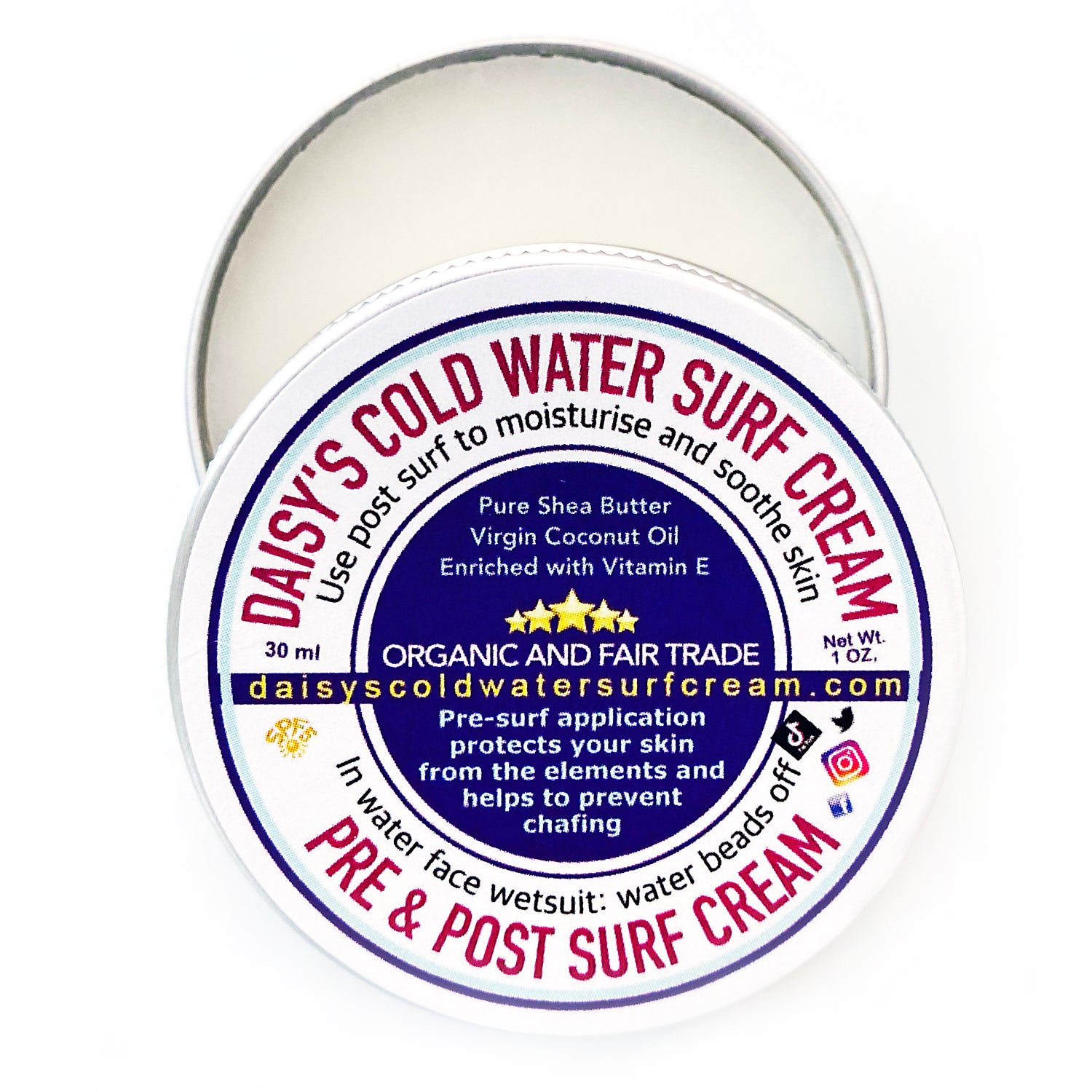 Image of Daisy's Cold Water Surf Cream 30ml