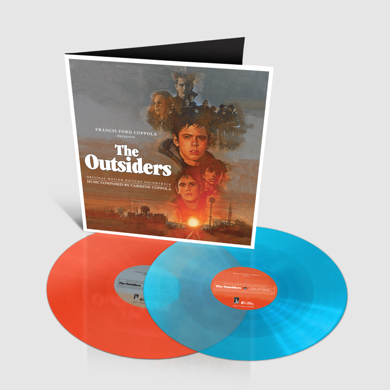 Image of The Outsiders Soundtrack by Carmine Coppola  2x Vinyl LP