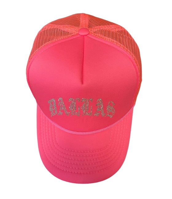 Image of DALLAS TRUCKER HATS (4 COLORS)
