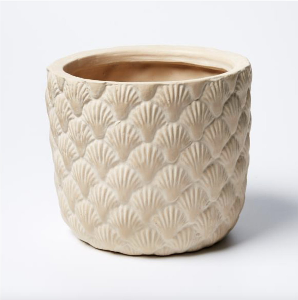 Image of Shell Planter Taupe