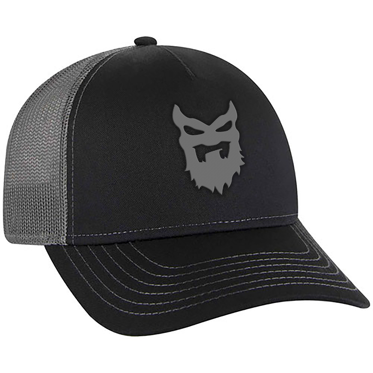 Image of TRUCKER BLACK AND GREY