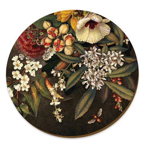 Wolfkamp and Stone - Kohekohe Pods &  Flowers  - Placemat