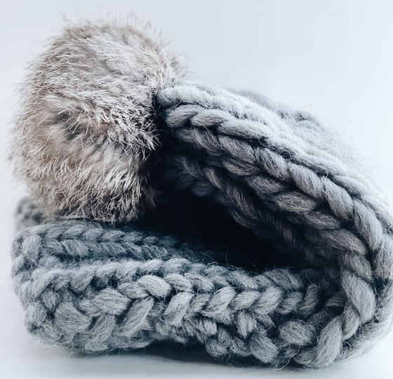 Image of Monster knit beanie