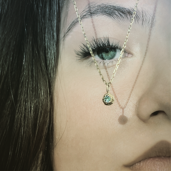 Image of Simply / Emerald / 24K GOLD-COATED SILVER