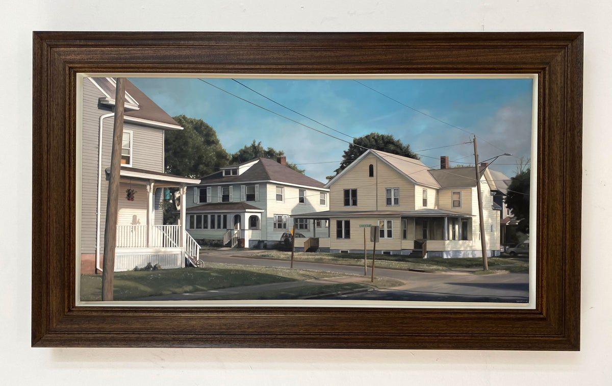 This House Is Not For Sale // Original Oil Painting