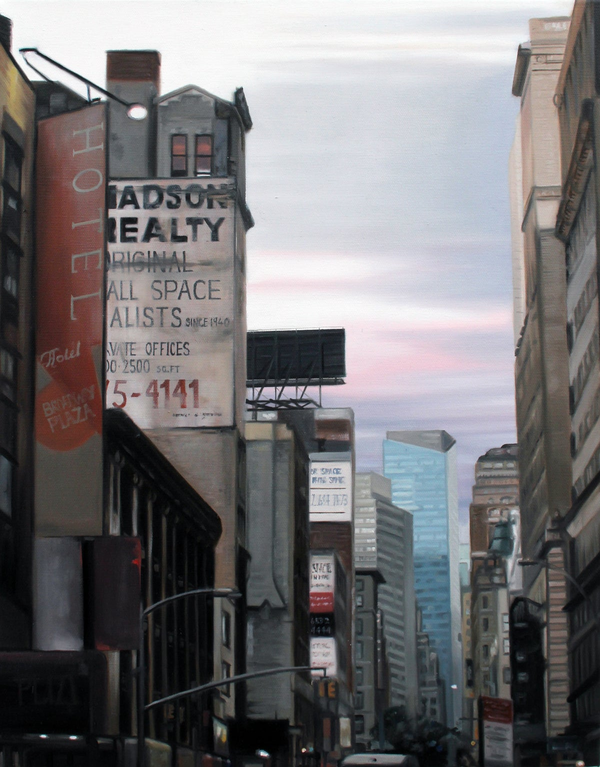 New York Madson // Original Oil Painting