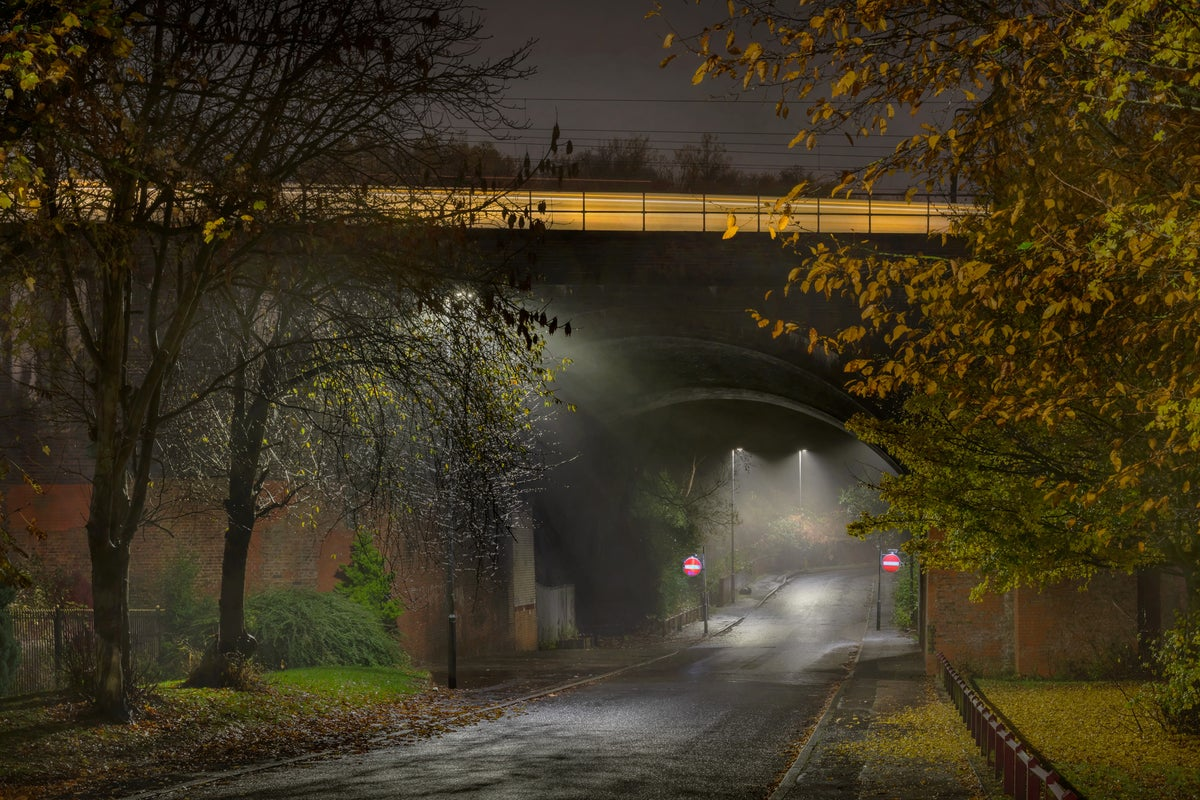 Image of SMEDLEY ROAD, MANCHESTER, 9.04pm