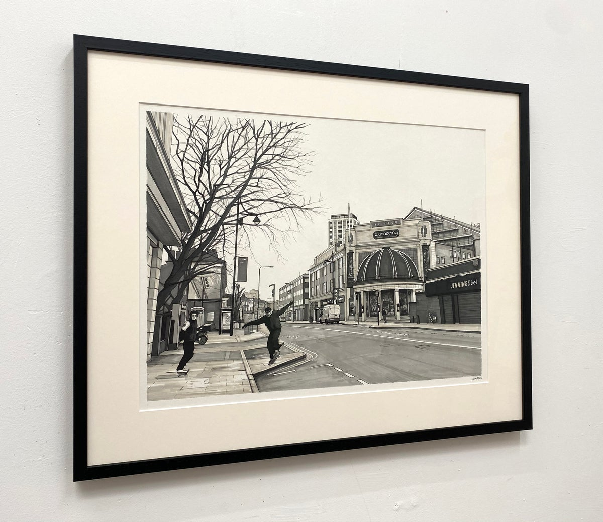 This Is Just An Interval (Brixton Academy) // Framed Original