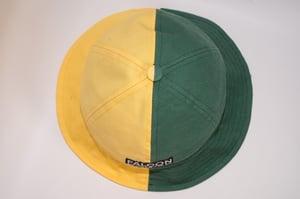 Image of Yellow and green bucket