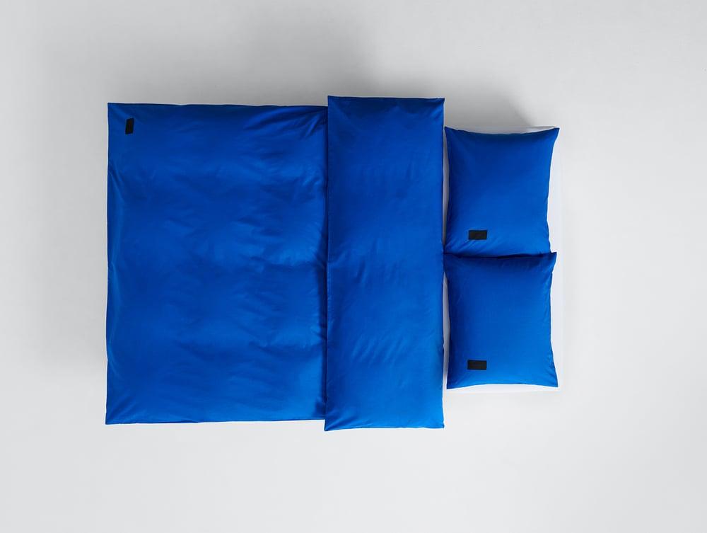 Image of Duvet Magnibert Popeline blau