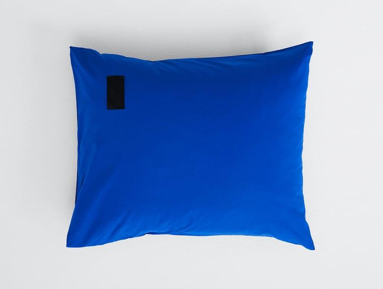 Image of Kissenbezug Magniberg Popeline blau