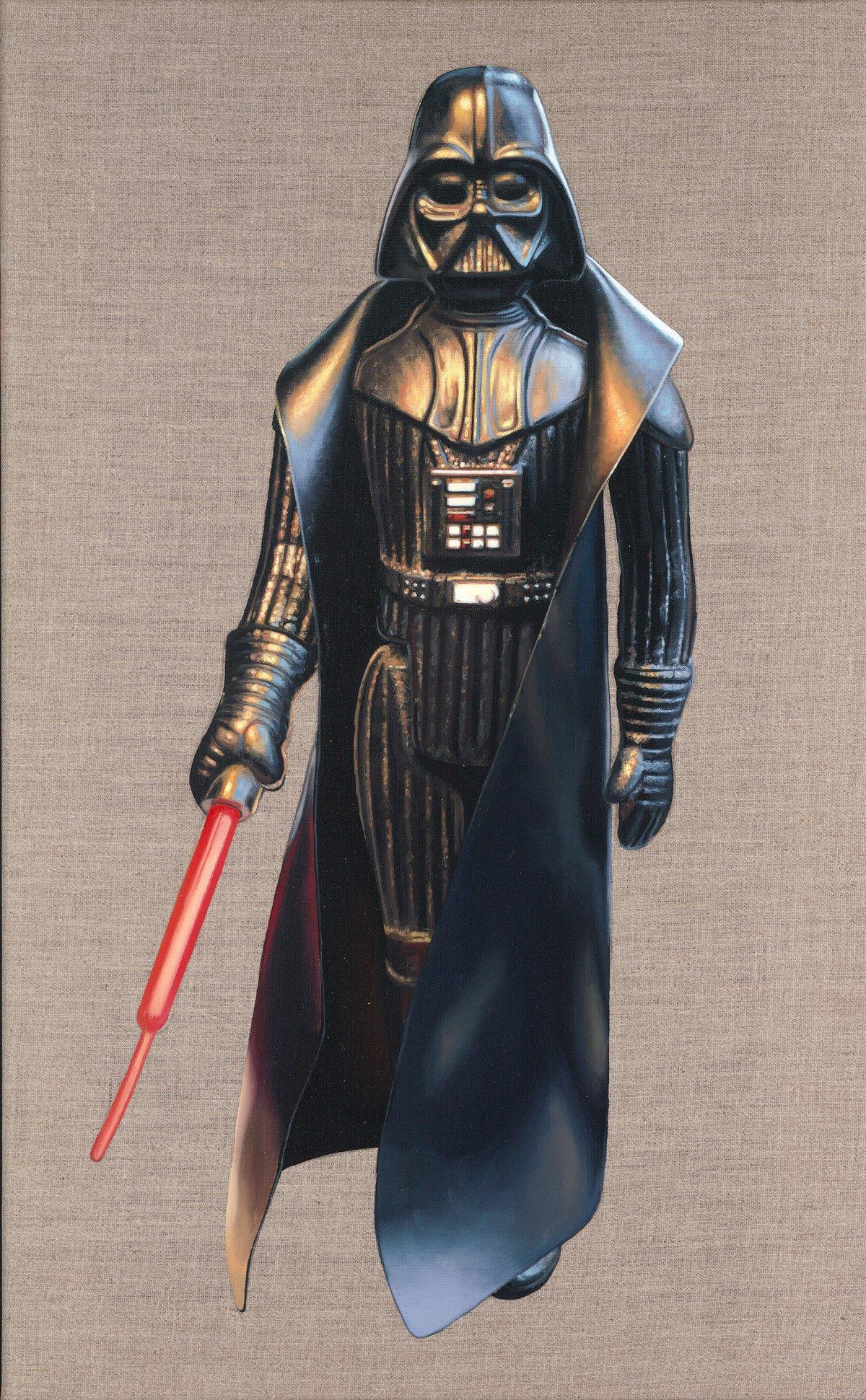 Darth Vader // Original Oil Painting