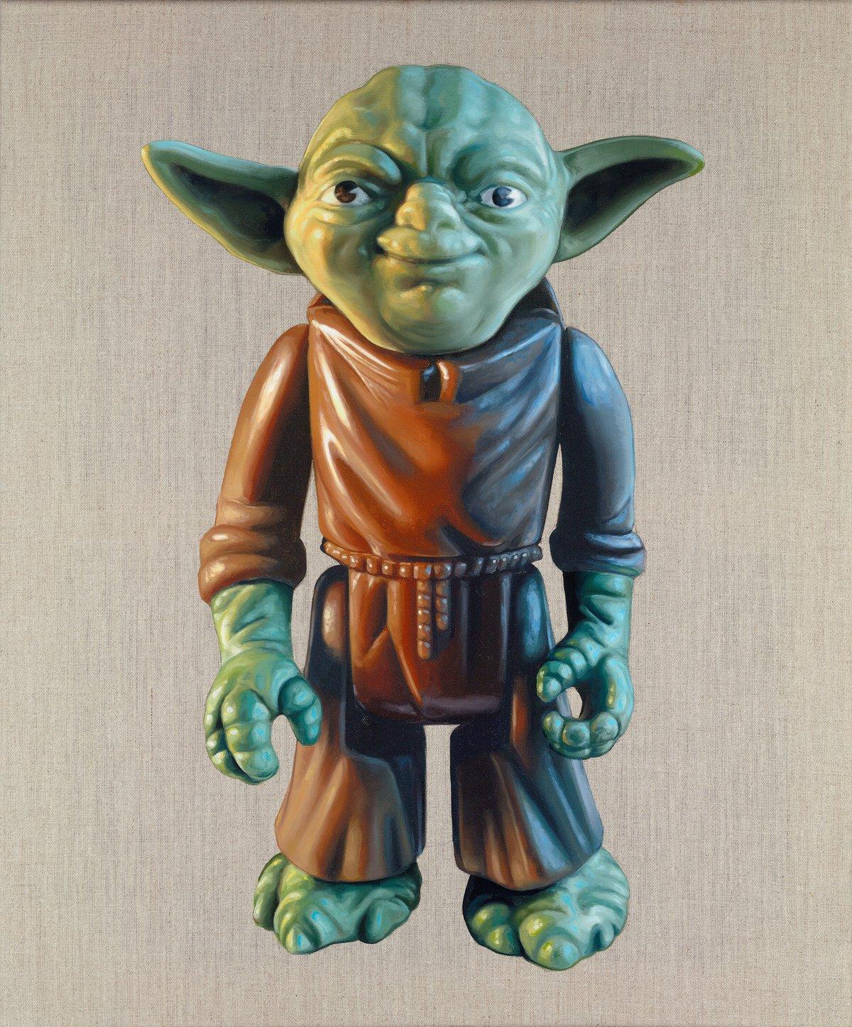 Yoda // Original Painting