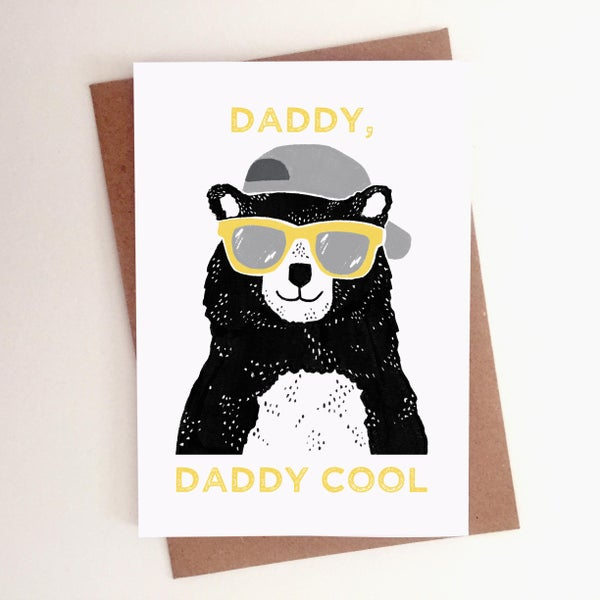 Image of Daddy Cool Card