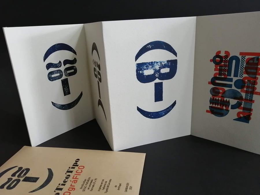 Image of EmoTicoTipo Acordeón Tipográfico