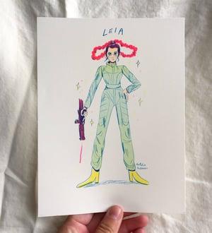 Super Women Riso Print Series