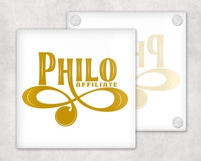 Image of Philo Affiliate Coasters