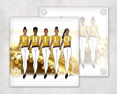 Image of Philo Ladies Coasters