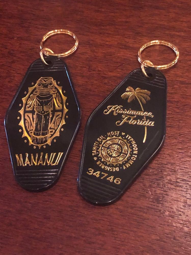 Image of Mananui Vintage Hotel Keychain