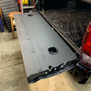 Image of AL Offroad Toyota Tacoma Aluminum Trailgate Panel for 2ND & 3RD Gen Tacoma (2005-2021)