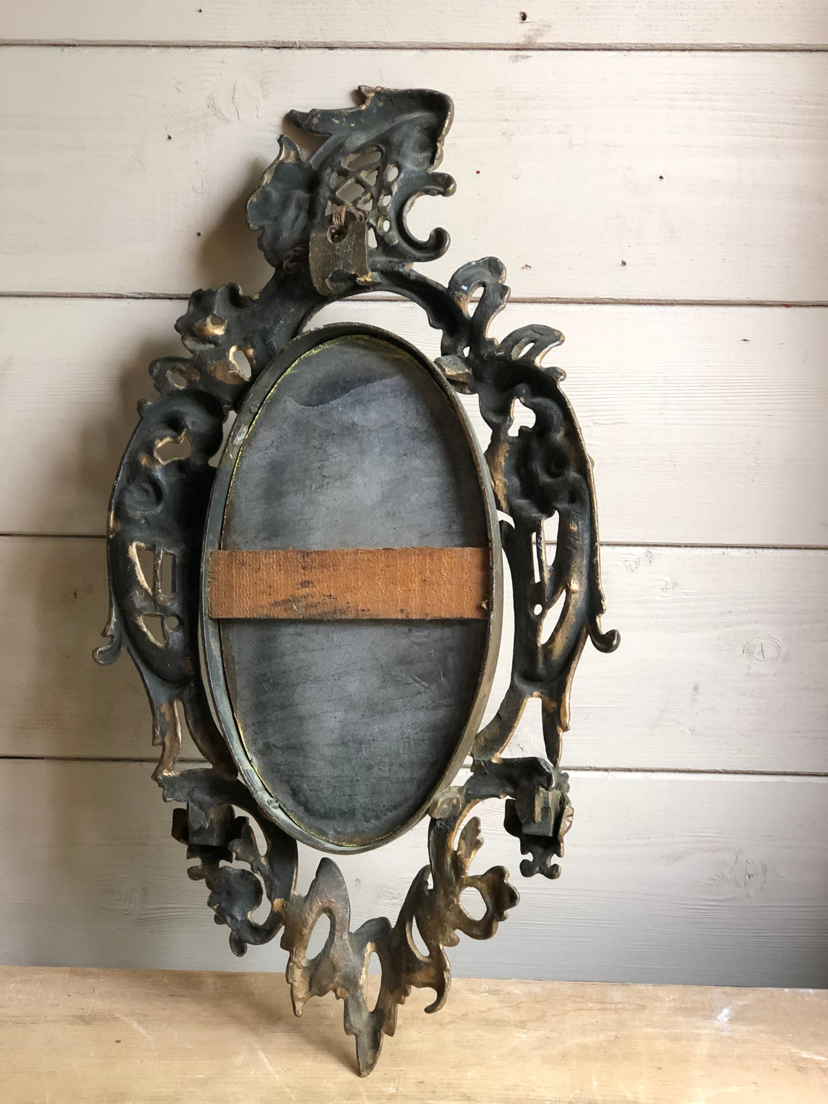 Image of Small french ornate mirror