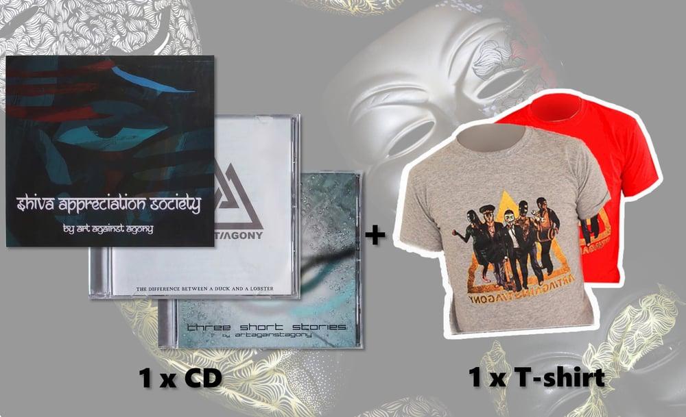 Image of BUNDLE - CD + Tshirt