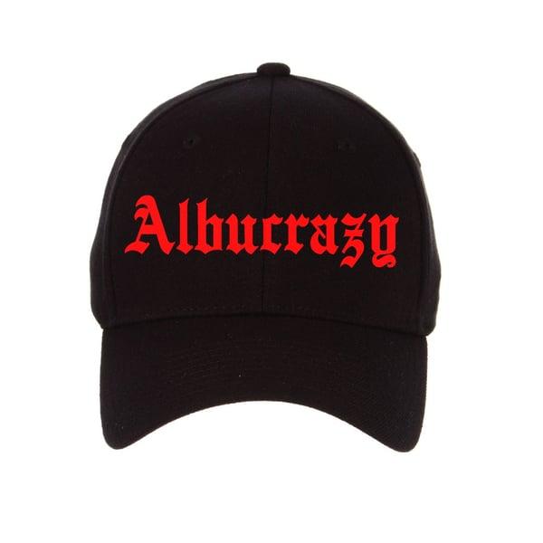 Image of *RARE* ALBUCRAZY [SNAPBACK]  RED