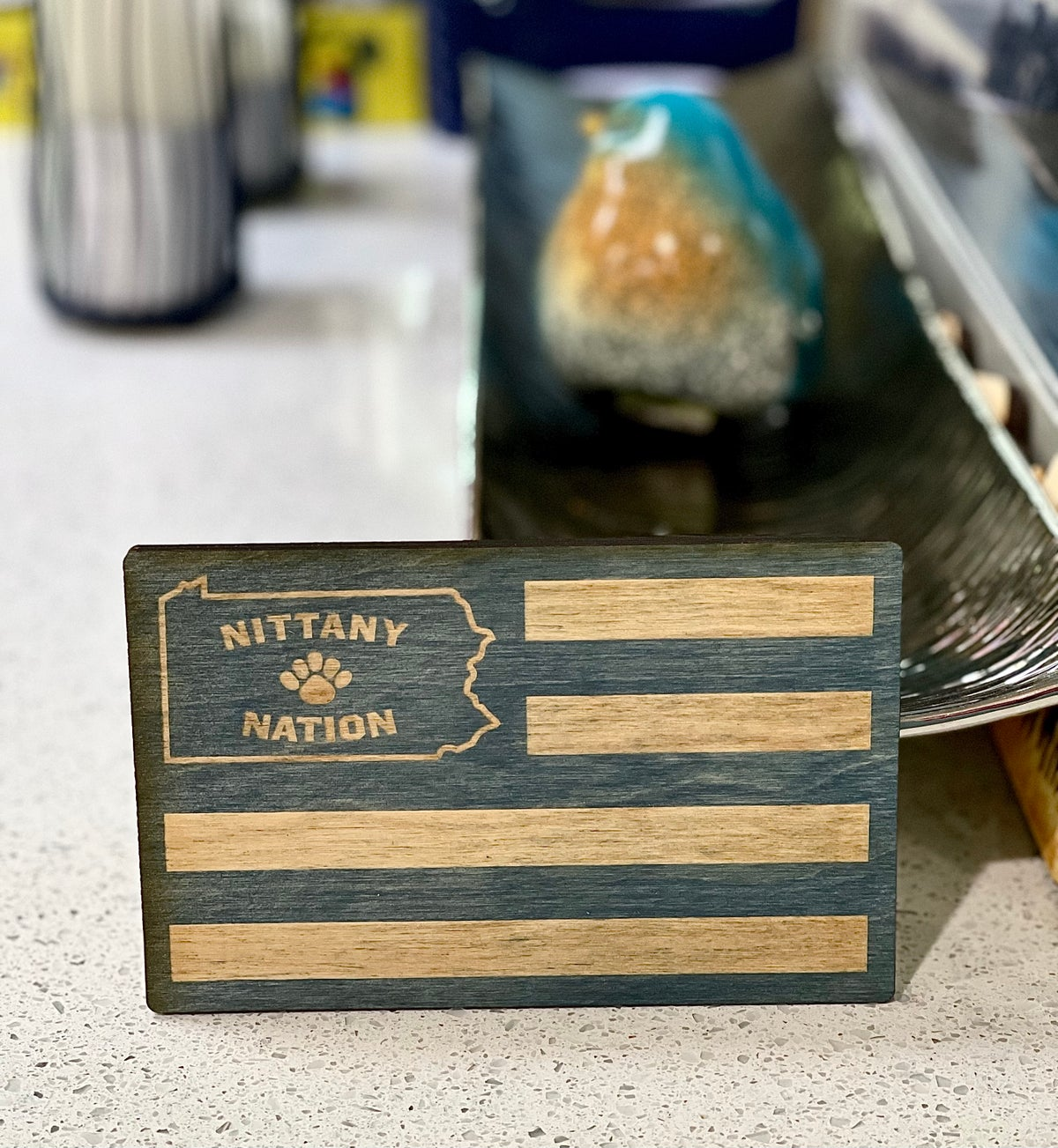 Image of Nittany Nation Wood sign