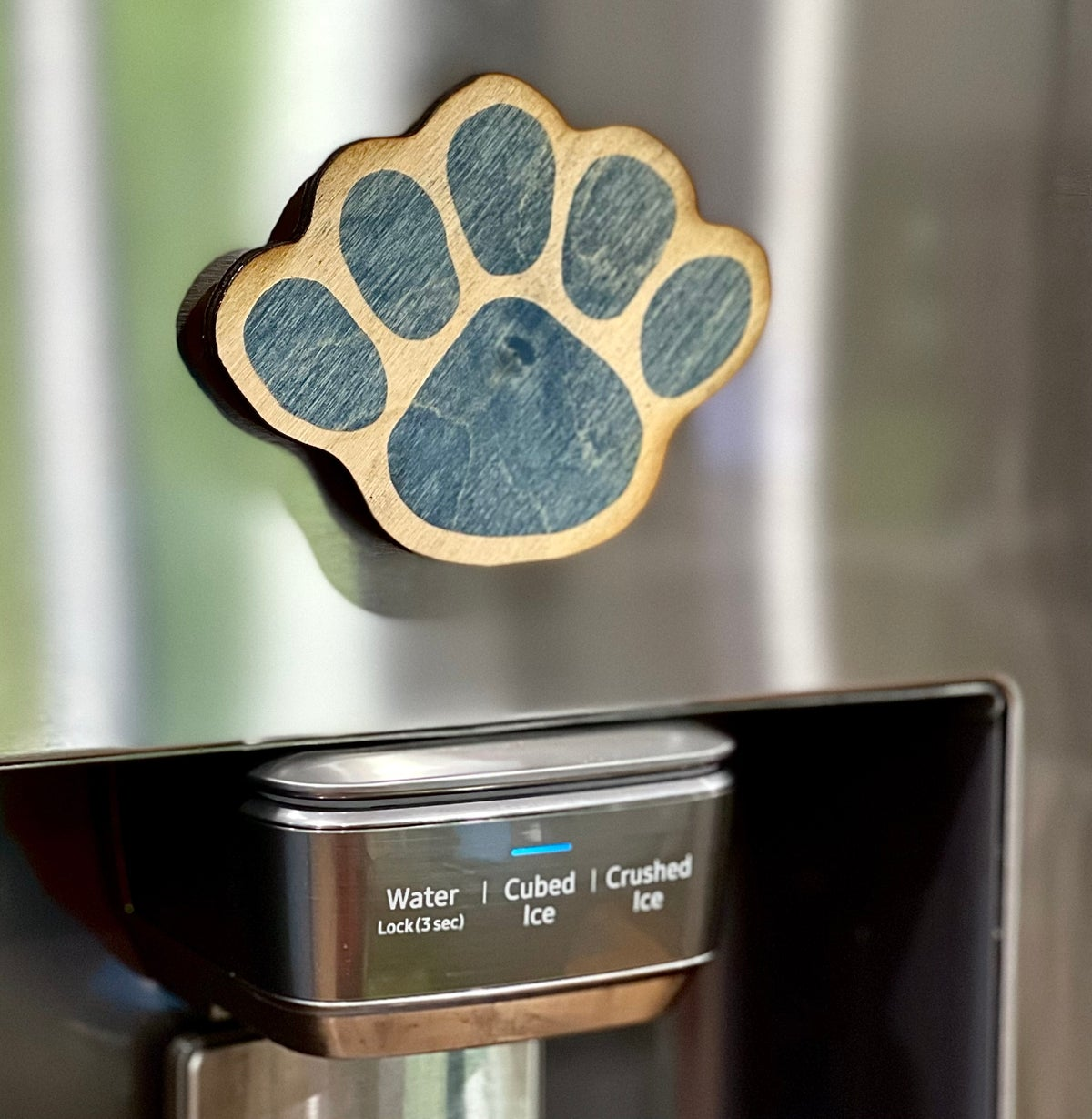 Image of Blue Paw Magnet
